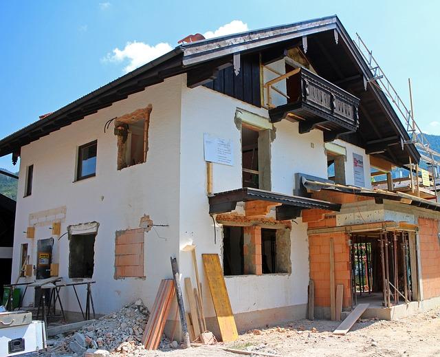 Renovierung im Haus